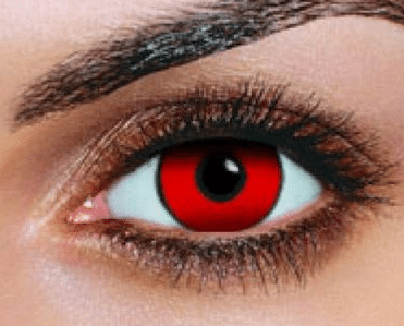 how to make your eyes red