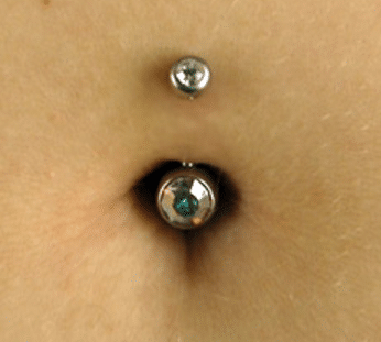 Normal Navel Piercing Healing