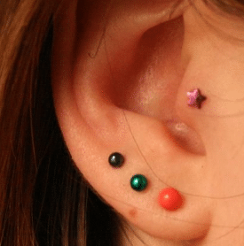 How much does second ear piercing cost